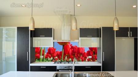 Panel kuchenny – tulipany
